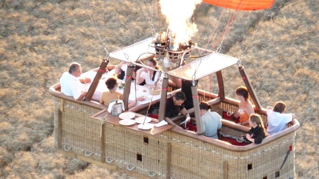 spécialiste du vol en montgolfière
