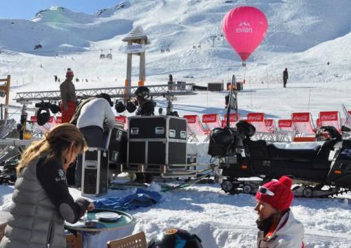Courchevel Avec Ballon Evian