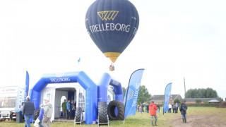 Captif En Montgolfière Pour Trelleborg à Oudenaarde (Belgique), Les 21 Et 22 Septembre 2013