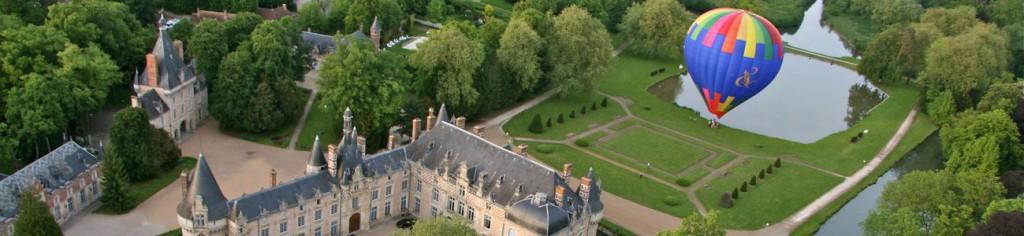 Montgolfière Chateau D'Esclimont 1300
