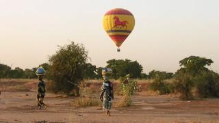 Vol En Montgolfière Au Burkina Faso