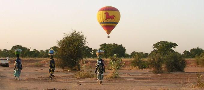 Vol Montgolfière Burkina Faso