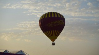 Une Montgolfière à Doha Pour Le Mondial 2015 De Handball Au Qatar, Le 15 Janvier 2015