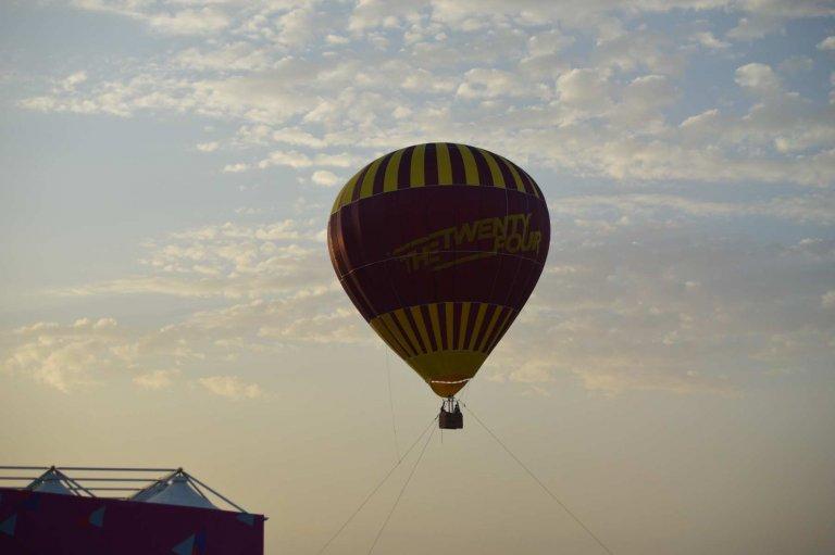 Vol montgolfi re doha pendant la coupe du monde handball 2015 au qatar - Qatar coupe du monde handball ...