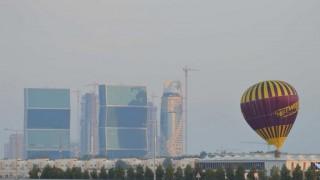 Vol Captif D'une Montgolfière, à Doha, Au Qatar, Pendant La Coupe Du Monde De Handball, Du 16 Janvier Au 1er Février 2015