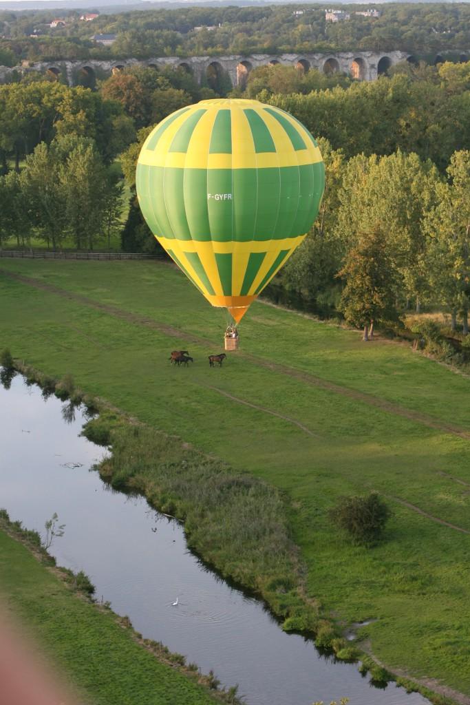 Ballon à air-chaud