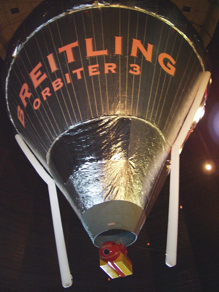 Ballon Rozière utilisé pour le record du monde de distance et de temps de vol