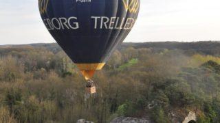Vol En Montgolfière De Maintenon, Le 31 Mars 2017