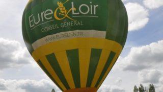 Captif D'une Montgolfière, à Saint Maur Sur Le Loir, Le 04 Juin 2017