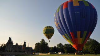 Décollage Du Golf De Maintenon, De Deux Ballons, Le 1er Juin 2017