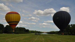 Captif De Deux Ballons Au Château De Versailles, Le 15 Avril 2017