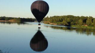 Vol Avec Tiziana Au-dessus De La Loire, Le 07 Août 2016