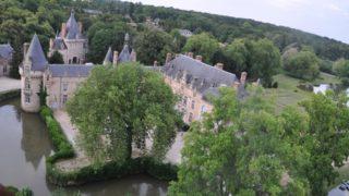 Décollage Du Château D'Esclimont, Le 20 Juillet 2016