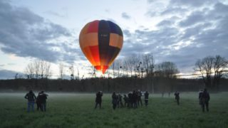 Vol Captif En Montgolfière à Maintenon, Le 12 Avril 2016